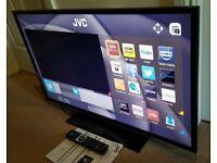 "32"" JVC SMART LED TV WIFI 6 MONTHS OLD CAN DELIVER"