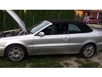 Volvo C 70 2.3 Petrol GT Convertible 240BHP 2005 GT(Auto) Engine for sale.