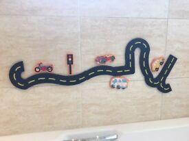 Traffic Fun Bath Toy