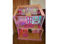 Lalaloopsay Dolls House with dolls & accessories
