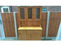 Solid pine dresser kitchen unit