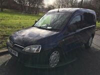 2006 VAUXHALL COMBO 1700. BRILLIANT DRIVE. BRAND NEW 1 YEAR MOT. 4 SEATS. RADIO CD PLAYER. NO VAT.