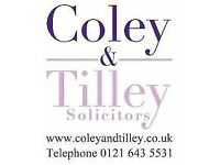 Full time Wills & Probate legal secretary