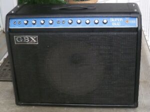 G.B.X . Combo Amp, (Made in Canada)