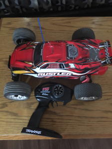 Traxxas RTR Rustler avec Water Proof XL-5 RTR et batterie 7 cell