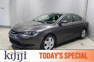 2015 Chrysler 200 LX Accident Free,  Bluetooth,  A/C,