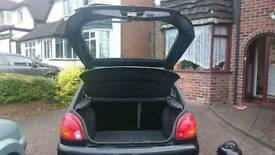 Black Ford Fiesta