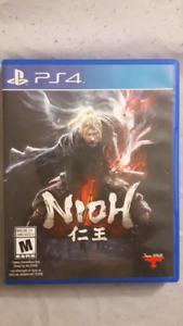 NIOH PS4 A VENDRE 55$
