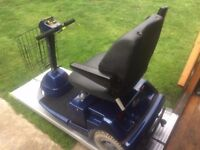 Medium Any Terrain Sterling 3 Wheel Mobility Scooter- 18 Stone Capacity-New Batteries-Was £2800