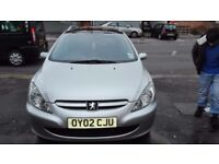 Peugeot 307 SW 2.0HDI Diesel Silver Estate * QUICK SELL*