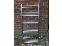Chrome rail radiator