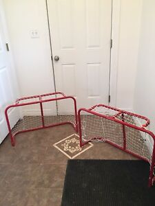 Metal Mini Hockey Nets