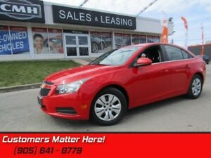 2014 Chevrolet Cruze 1LT   POWER GROUP, BLUETOOTH, REMOTE, STEER