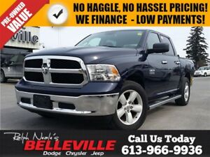 2016 Ram 1500 SLT-Chrome Side Steps-Back UP Camera