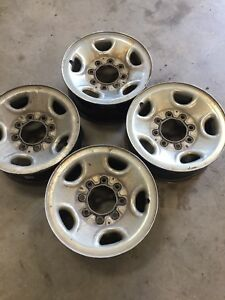 Chev 8 bolt rims