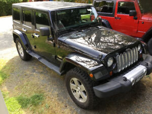 2012 Sahara Jeep Wrangler Unlimited