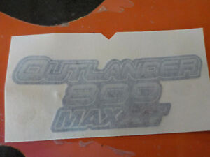 Outlander 800 Max XT decal brand new