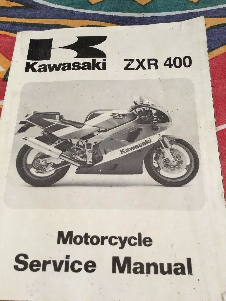 KAWASAKI ZXR 400 SERVICE MANUAL