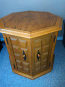 OCTAGON END TABLES