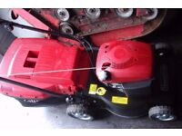 lawnmower mountfield 17inch cut rotary mower in excellent condition