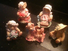 Collection of Cherished Teddies.