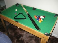 a 4 in 1 games table