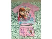 Frozen swimming costume top and shorts 1 1/2 -2 yrs