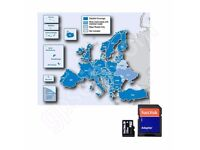 Garmin City Navigator EUROPE + UK 2017 Map + Speed Cam Data Micro SD Card