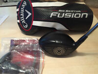 CALLAWAY BiG Bertha FUSION - Men's Driver 10.5 S Flex R/H *Mint Cond*