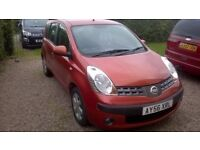 nissan note se, 2006, just had full service, new mot with no advisories.. Lovely drive