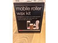 Mobile roller wax kit hot wax machine hair removal wax strips wax cleaner waxing machine