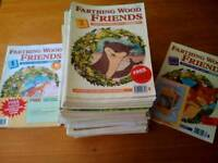 Complete set of Animal of farthing wood children's magazines / books