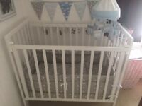 Spacesaver cot bed