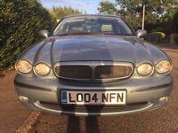 2004 jaguar x type diesel long mot leather