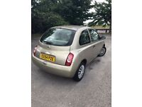 Nissan Micra 1.0 L gold mot 2018, cheap insurance ,cheap on fuel
