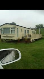 Static caravan double glazed and central heating