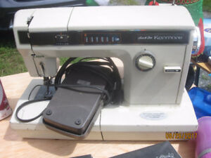 Kenmore Sewing Machine with Several attachments