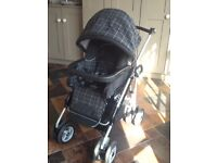 Mamas and Papas 3-in-1 Pram, stroller and car seat