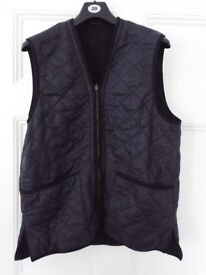 Barbour D220 Polarquilt Waistcoat/Zip-in Liner