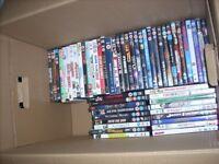154 DVDs for sale. various genre