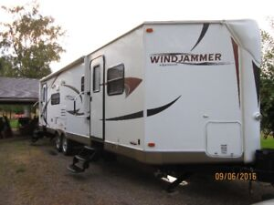 34 foot Windjammer Travel Trailer