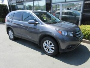 2012 Honda CR-V AWD TOURING WITH LEATHER & ALLOYS