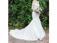 Fishtail Wedding Dress size 6