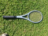 HISTORIC AND RARE ARTHUR ASHE HEAD TENNIS RAQUET
