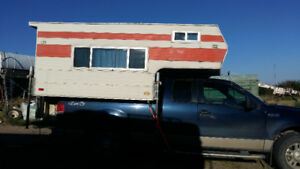 Truck Camper For Sale with mounts for truck