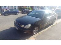 Lexus GS 300 spares or repair, MOT 10/17, Final price, collect by Sunday.