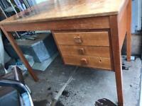 Old desk needs tlc