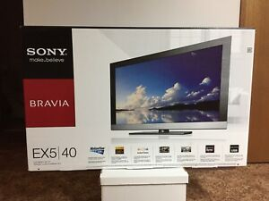 "Sony Bravia EX5 40"" Flat Screen TV"