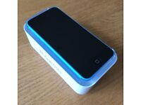 Unlocked iPhone 5C, 16 gb, Blue, can deliver