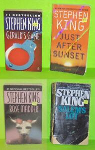 SALE   Group of 3 Stephen King Pocket Books